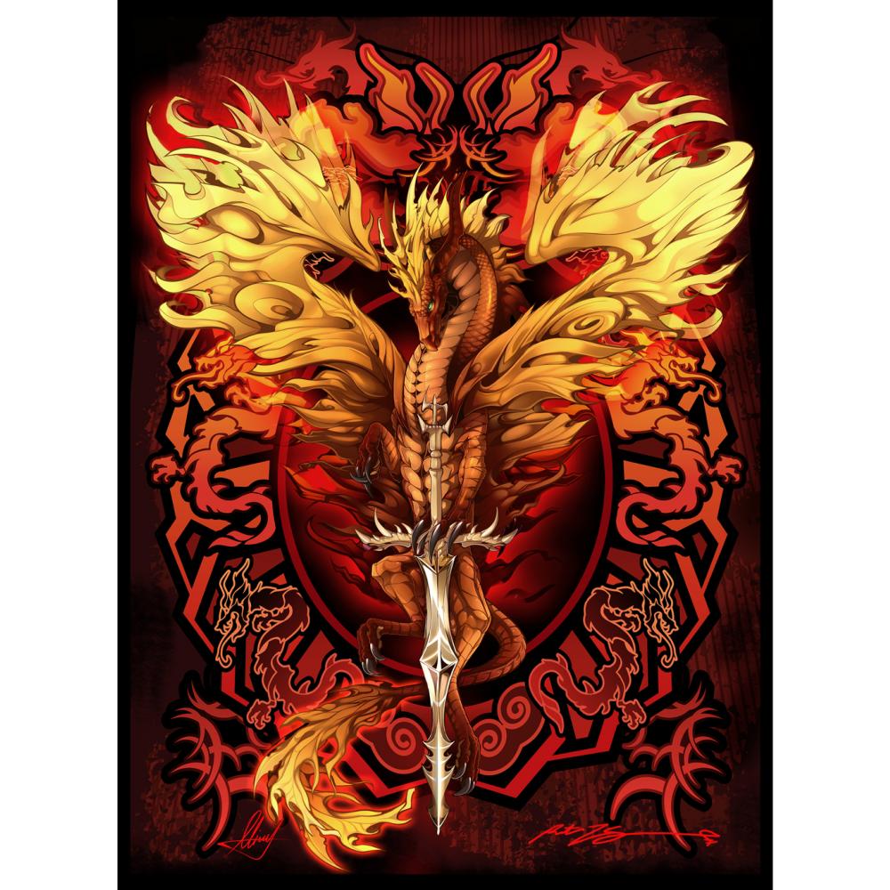 Ruth Thompson Flameblade Dragon S Lair Rra