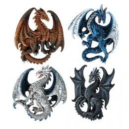 Dragon Magnets Set 1 by Ruth Thompson