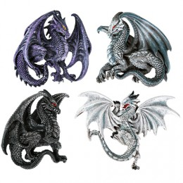 Dragon Magnets Set 3 by Ruth Thompson