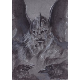 Odin-The Allfather Painted Original