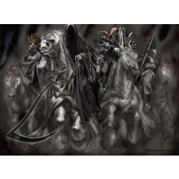 The Four Horsemen Pencil