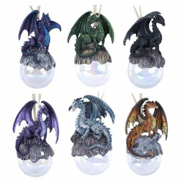 Ruth Thompson's Dragon Ornament Set