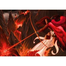 Uriel Over Hell Original
